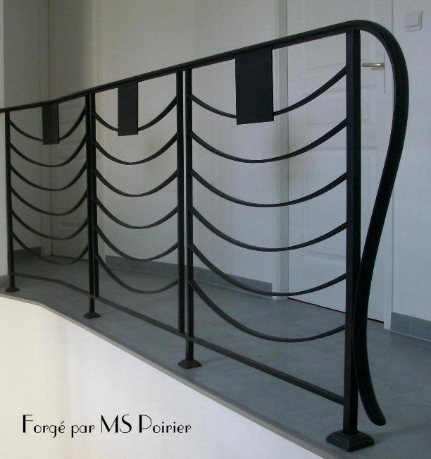 re d escalier vogue ferronnerie design