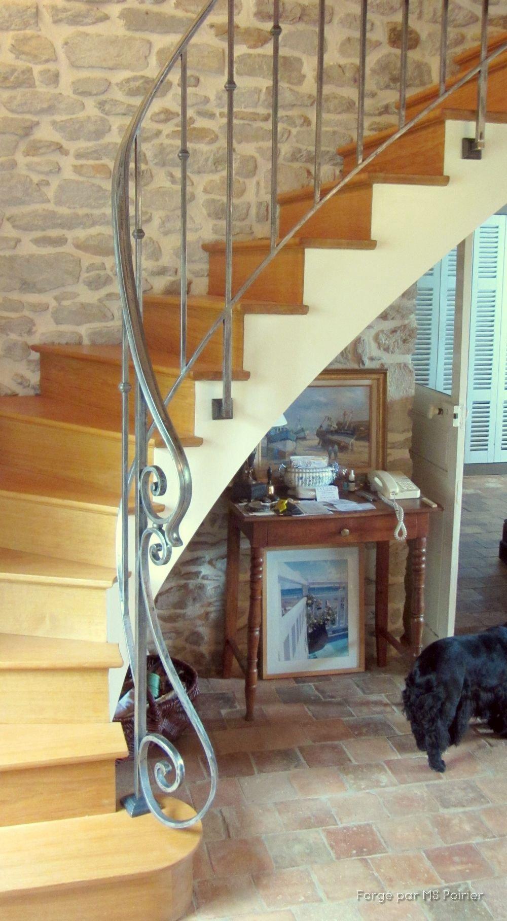 Peindre Une Rampe D Escalier En Bois rampe d'escalier débillardée de style directoire